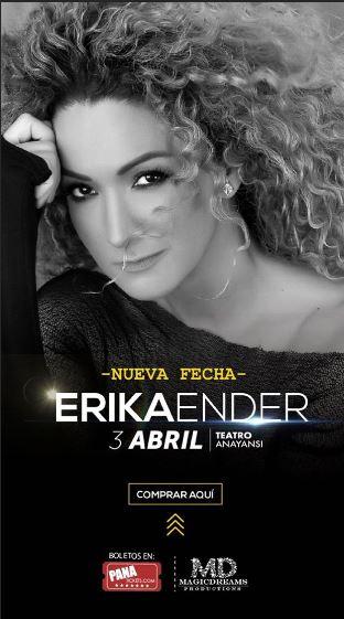 Photo of Nueva fecha para el concierto de Erika Ender