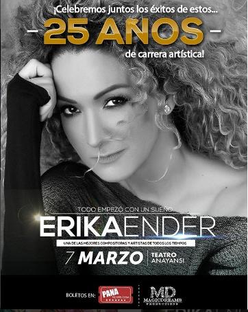 Photo of En concierto 'Erika Ender'