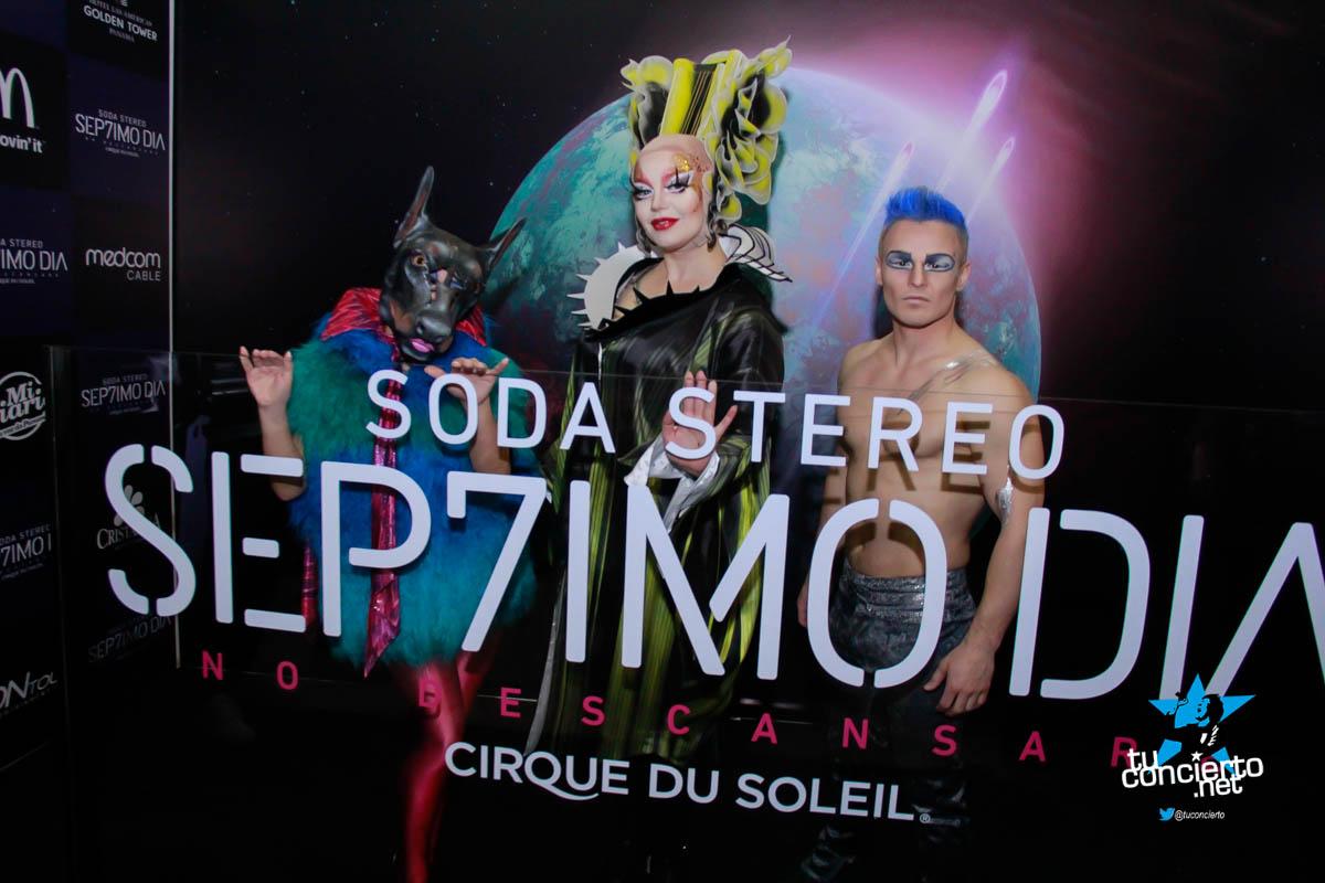 Photo of Apertura del Soda Stereo Cirque Du Soleil