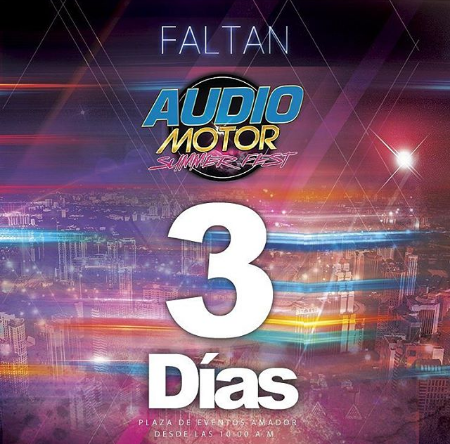 Photo of A pocos días para Audio Motor Fest 2018