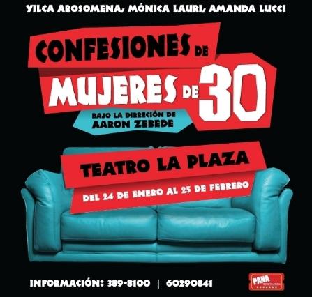 Photo of Esta noche «Confesiones de mujeres de 30»