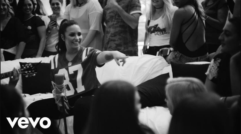 Photo of Demi Lovato  Get Back (Simply Complicated)