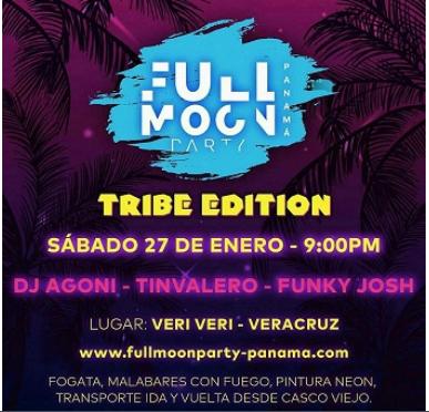 Photo of No te pierdas de «Full Moon Party»