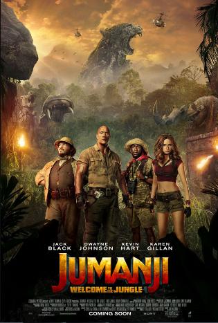 Photo of Jumanji se coloca en primer lugar en las taquillas de los EE.UU y Canadá