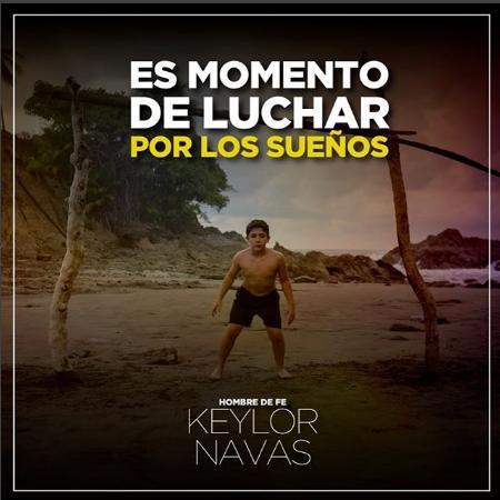 Photo of Keylor Navas la película