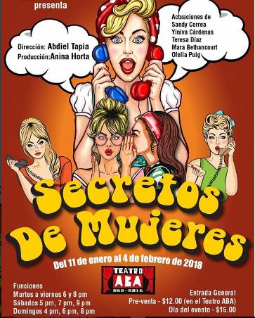 Photo of Disfruta desde hoy de la obra 'Secretos de Mujeres'