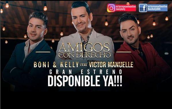 Photo of Boni & Kelly lanzan el vídeo de 'Amigos con derecho'