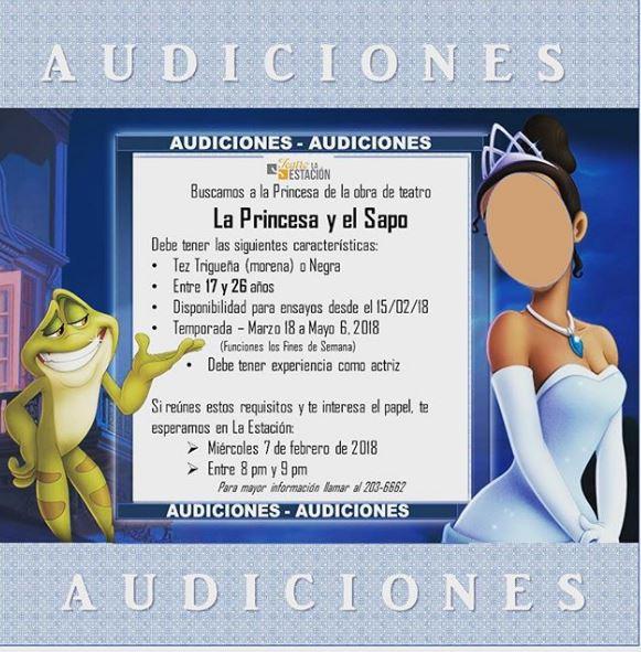 Photo of Teatro La Estación esta en busca de una princesa