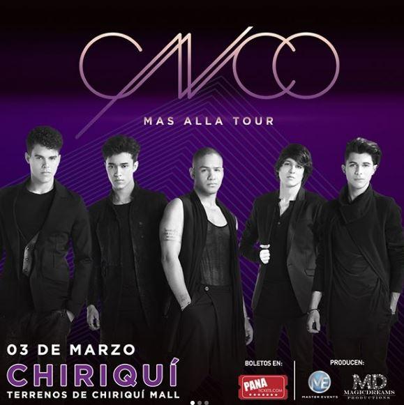 Photo of Atención Chiriquí Últimos Boletos para el concierto de CNCO