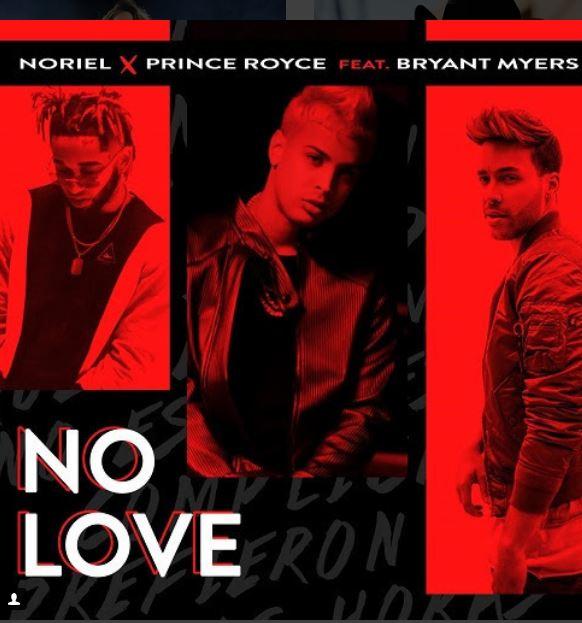 Photo of «No Love» es lo nuevo de Noriel junto a Prince Royce y Bryant Myers