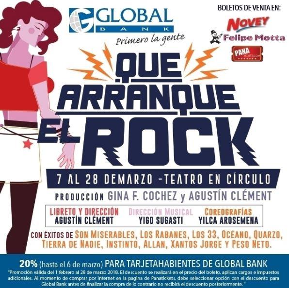 Photo of 'Que arranque el rock' en Teatro En Circulo