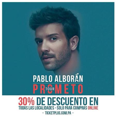 Photo of 30% de descuento para concierto de Pablo Alborán
