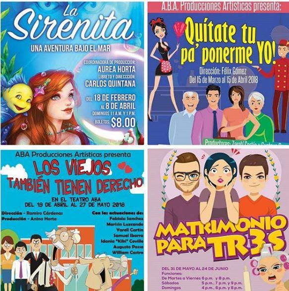 Photo of Teatro Aba anuncia los próximos estreno