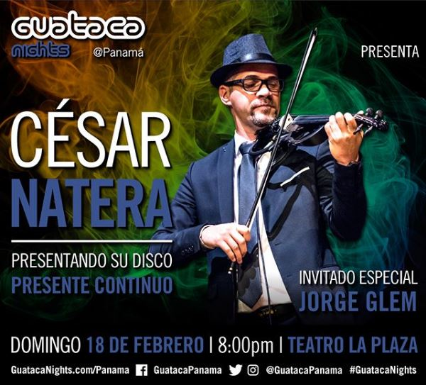 Photo of Este domingo César Natera en Teatro La Plaza