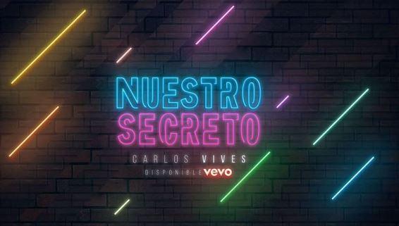Photo of Carlos Vives presenta 'Nuestro Secreto'