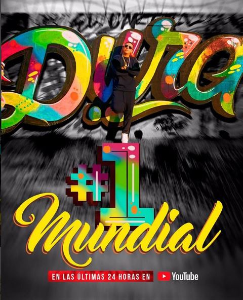 Photo of 'Dura' de Daddy Yankee Nº 1 a nivel mundial
