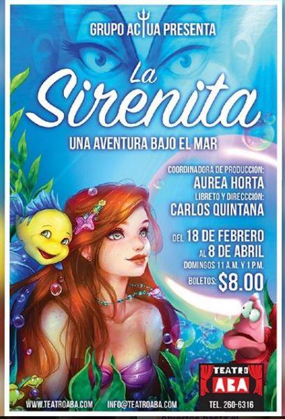 Photo of La Sirenita, una aventura bajo el mar