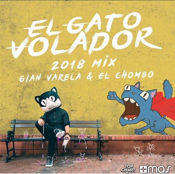 Photo of Gian Varera y El Chombo se unen en 'El Gato Volador'