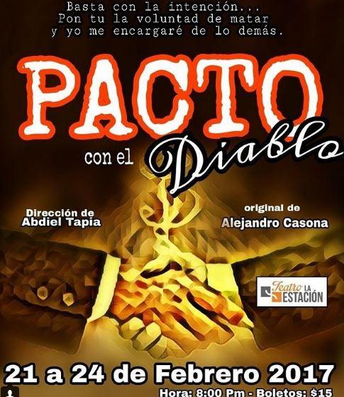 Photo of Se estrena la obra 'Pacto con el Diablo'