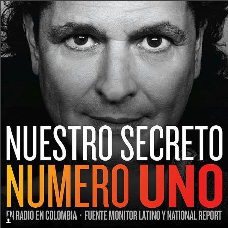 Photo of Carlos Vives con «Nuestro Secreto» esta número 1 en la lista de Colombia