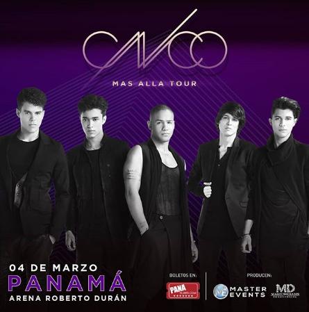 Photo of CNCO concierto en Panamá