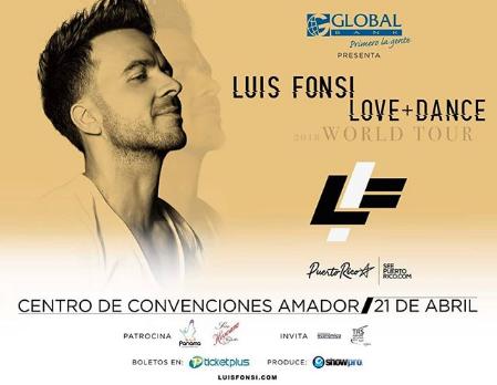 Photo of Panamá será parte del «Love And Dance World Tour» de Luis Fonsi