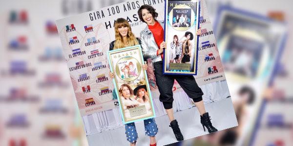 Photo of Ha*Ash recibió Disco de Oro
