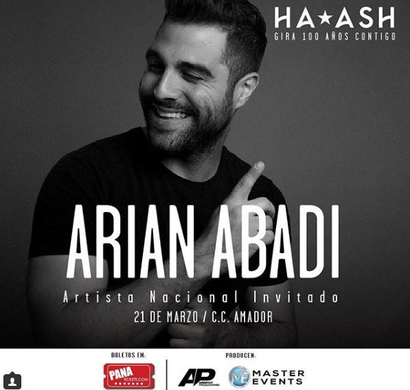 Photo of Arian Abadi será el encargado de abrir el concierto de Ha*Ash