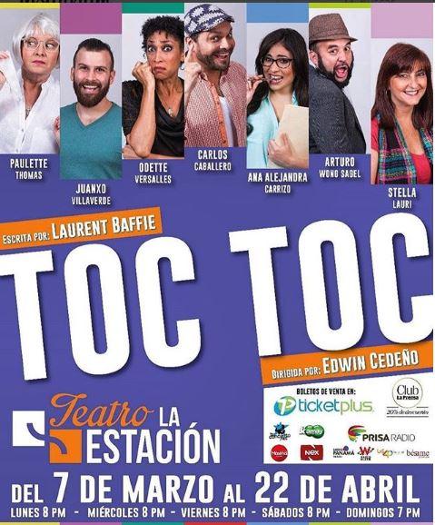 Photo of Hoy sigue Toc Toc en Teatro La Estación