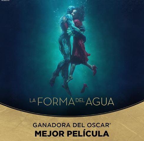 Photo of «La forma del agua» gana el Oscar a mejor película