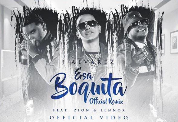 Photo of J Álvarez lanza el remix de 'Esa boquita' junto a Zion y Lenox