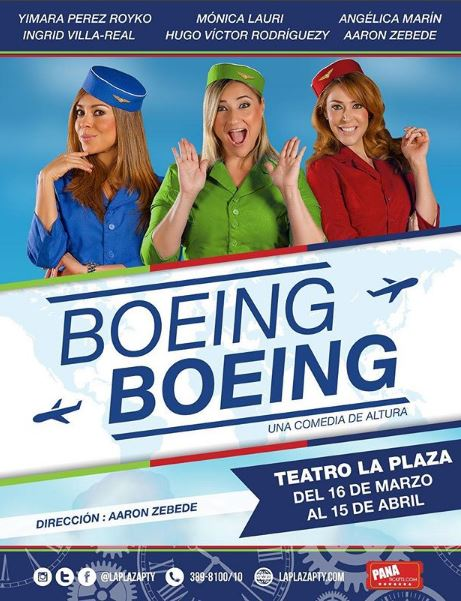 "Photo of ""Boeing Boeing"" una comedia de altura"