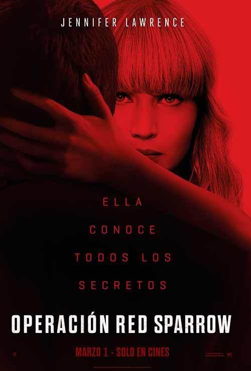 Photo of 'Operación Red Sparrow' es el estreno en Cinemark
