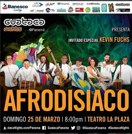 Photo of 'Afrodisíaco' en Concierto