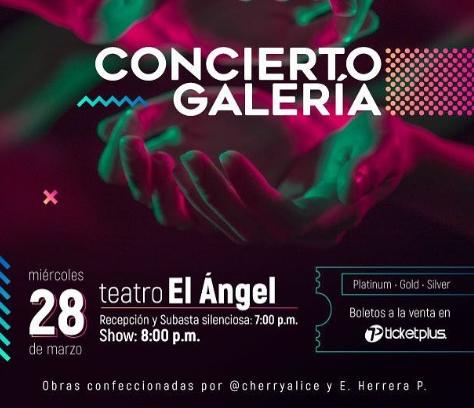 Photo of Está noche el concierto Galería en Teatro el Ángel