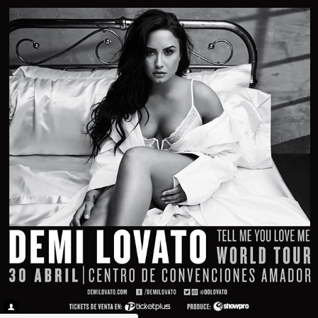 Photo of Demi Lovato viene a Panamá con «Tell Me You Love Me World Tour»