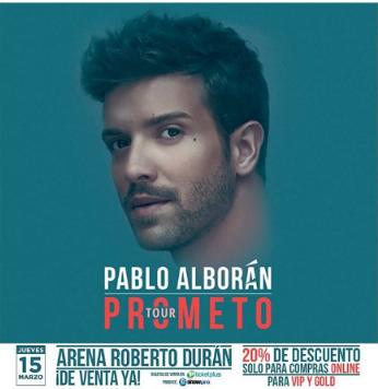 Photo of Cuenta regresiva para recibir a Pablo Alborán en Panamá