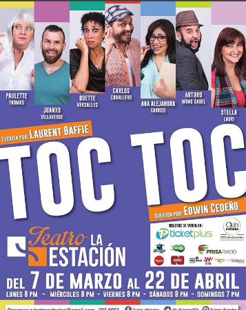 "Photo of Disfruta de la obra ""Toc Toc"""