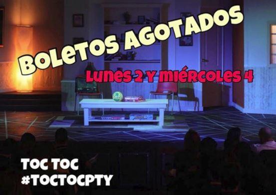 Photo of Reserva los boletos para la obra 'Toc Toc'