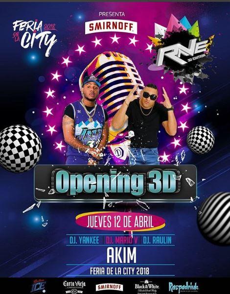 Photo of Esta noche 'Gran Opening 3D' en Feria de la City