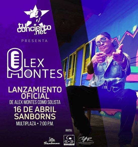 Photo of Lanzamiento oficial de Alex Montes como solista