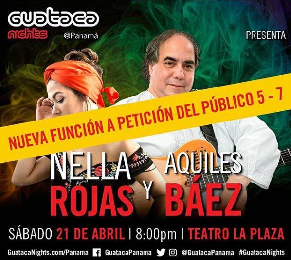 Photo of Concierto de Nella Rojas y el maestro Aquiles Báez