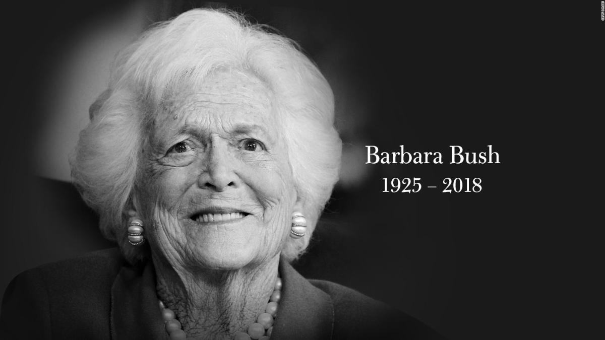 Photo of Fallece Barbara Bush la ex primera dama