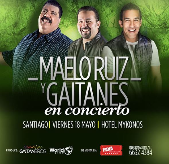 Photo of Concierto en Santiago de Maelo Ruiz y Gaitanes