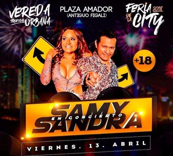 Photo of Samy y Sandra estarán en Feria de la City