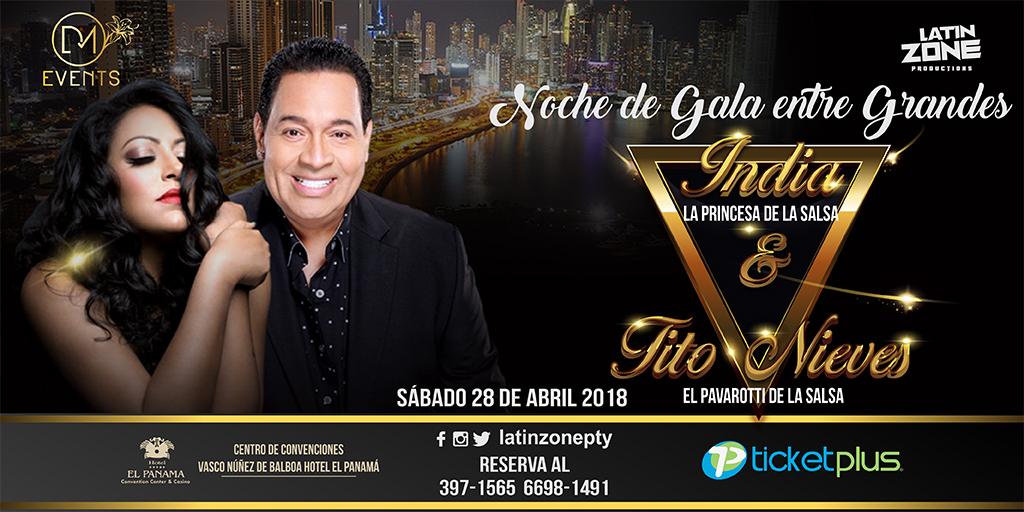 Photo of Panamá se prepara para recibir a la India y Tito Nieves