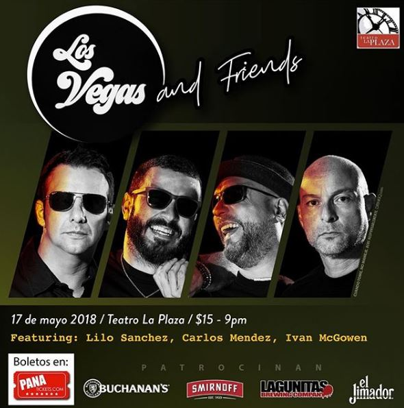 Photo of Los Vegas and Friends en Teatro la Plaza