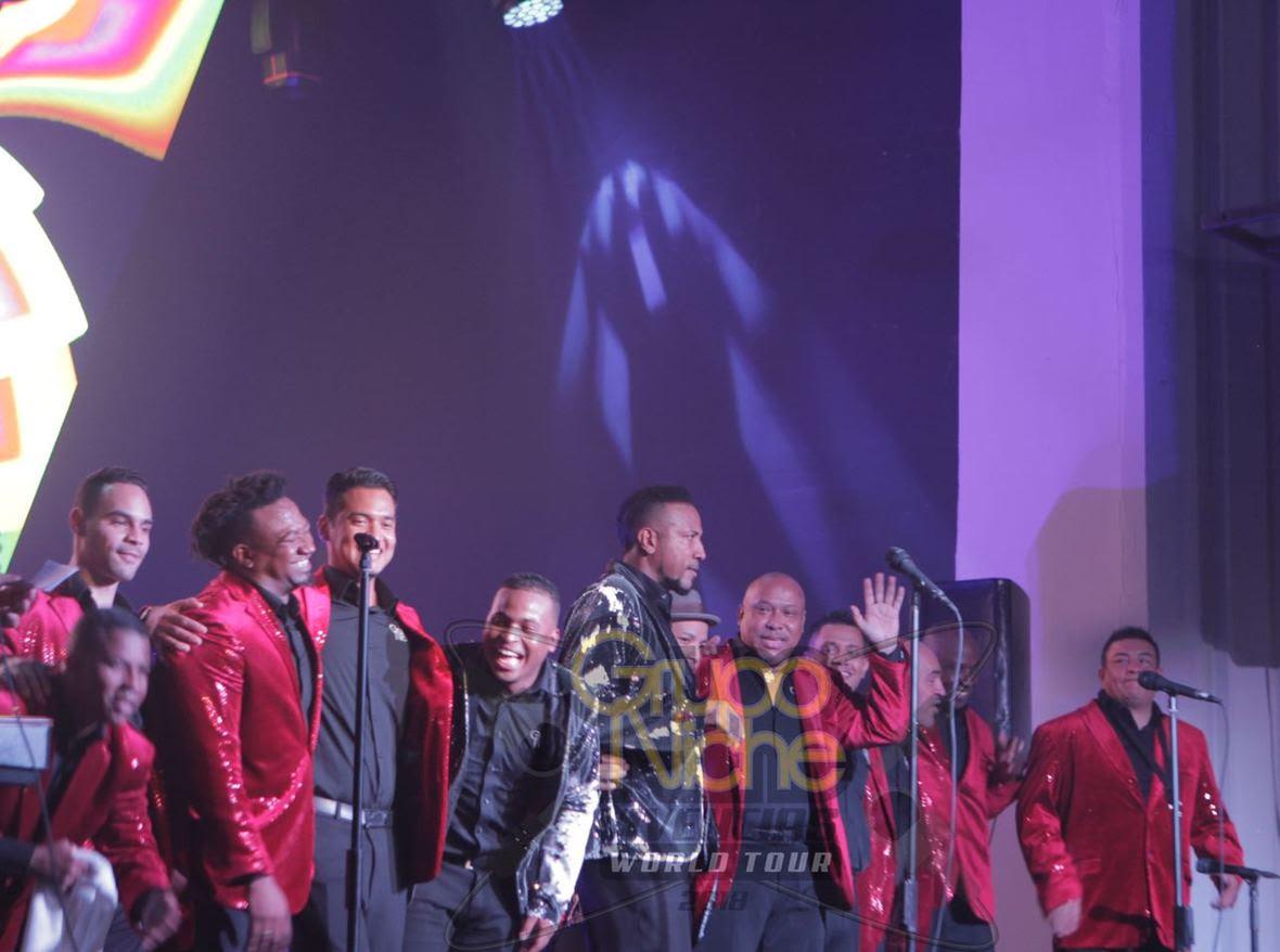 Photo of El Grupo Niche tuvo una gran noche en República Dominicana