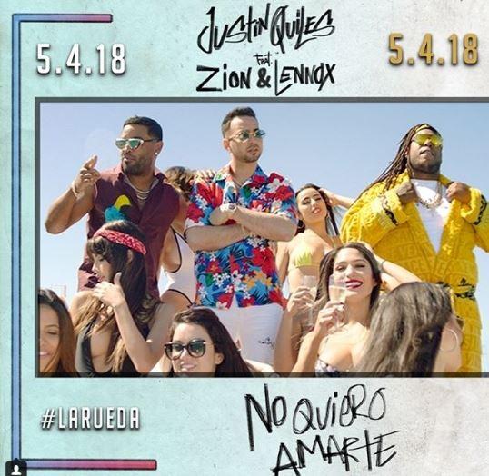 Photo of Justin Quiles se une a Zion & Lennox en 'No Quiero Amarte'