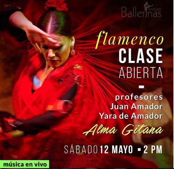 Photo of Clase abierta de Flamenco